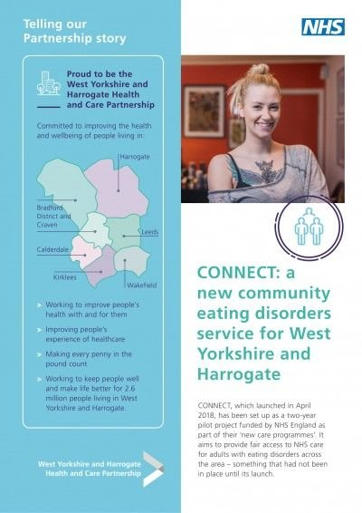 CONNECT: a new community eating disorders service for West Yorkshire and Harrogate