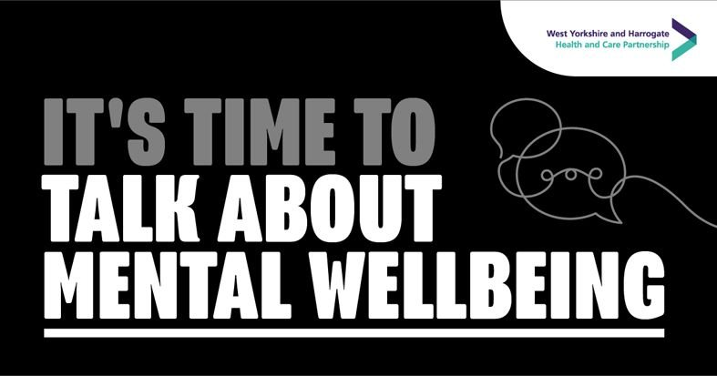 It's time to talk about mental wellbeing
