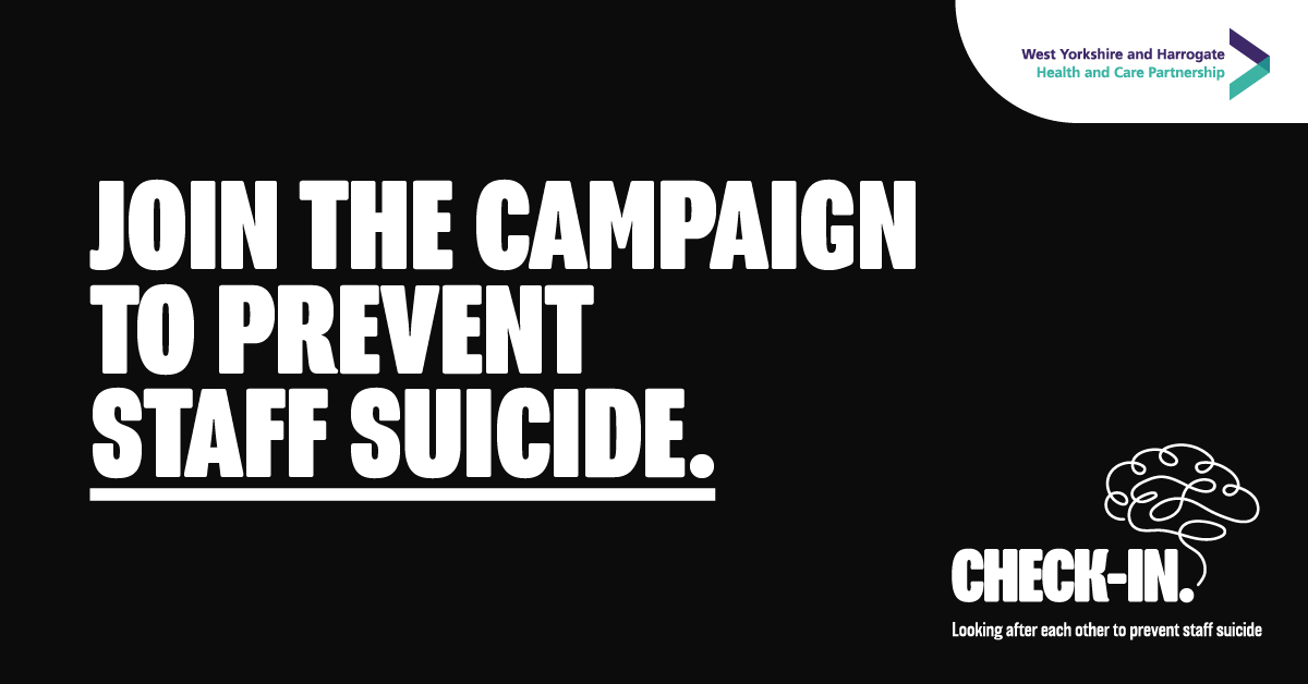 Join the campaign to prevent staff suicide